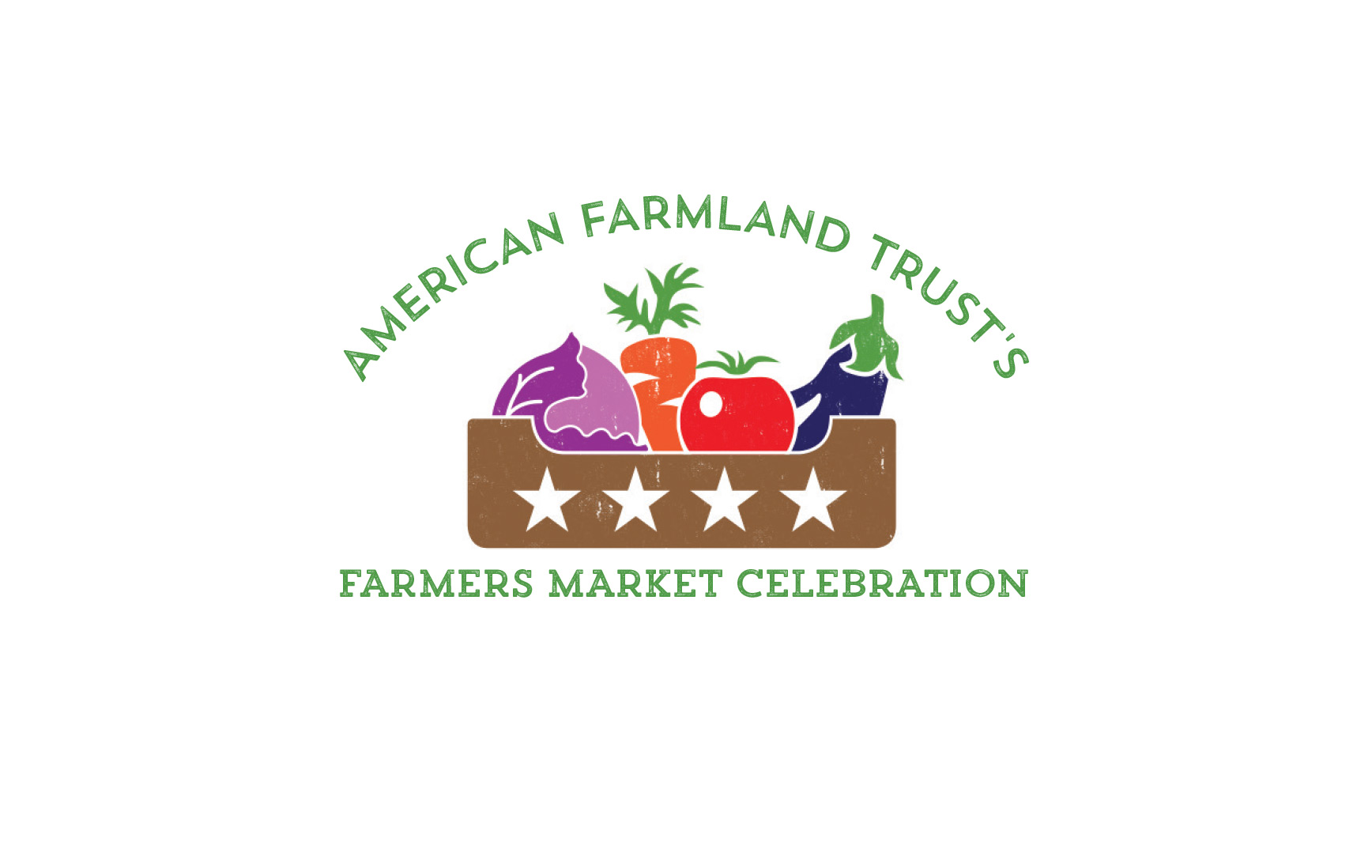 I Love My Farmers Market // Logo