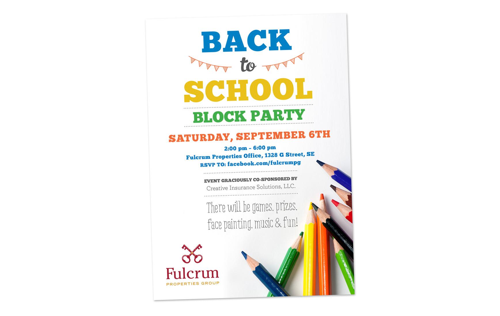 Fulcrum // Back to School