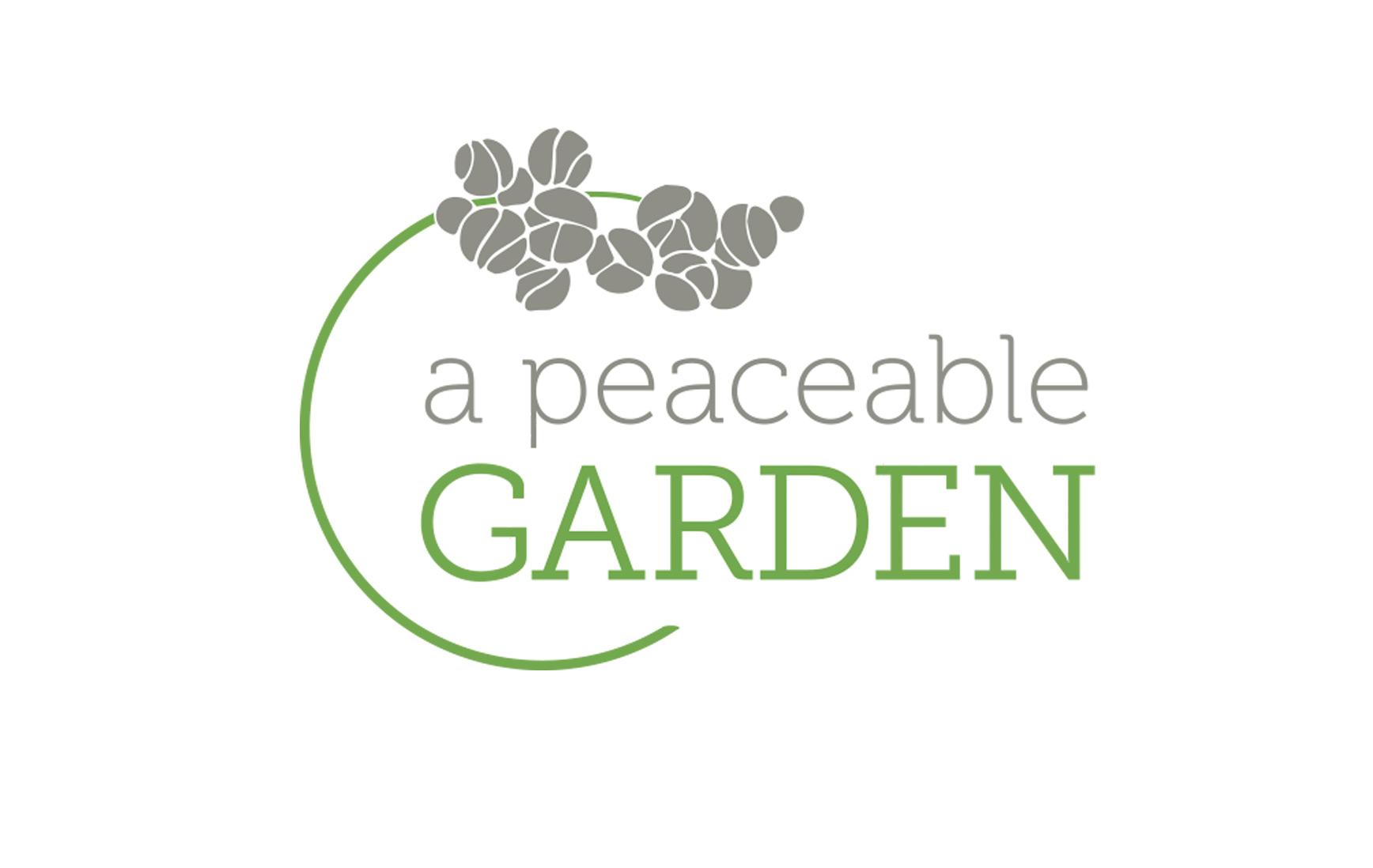 Peaceable Garden // Logo